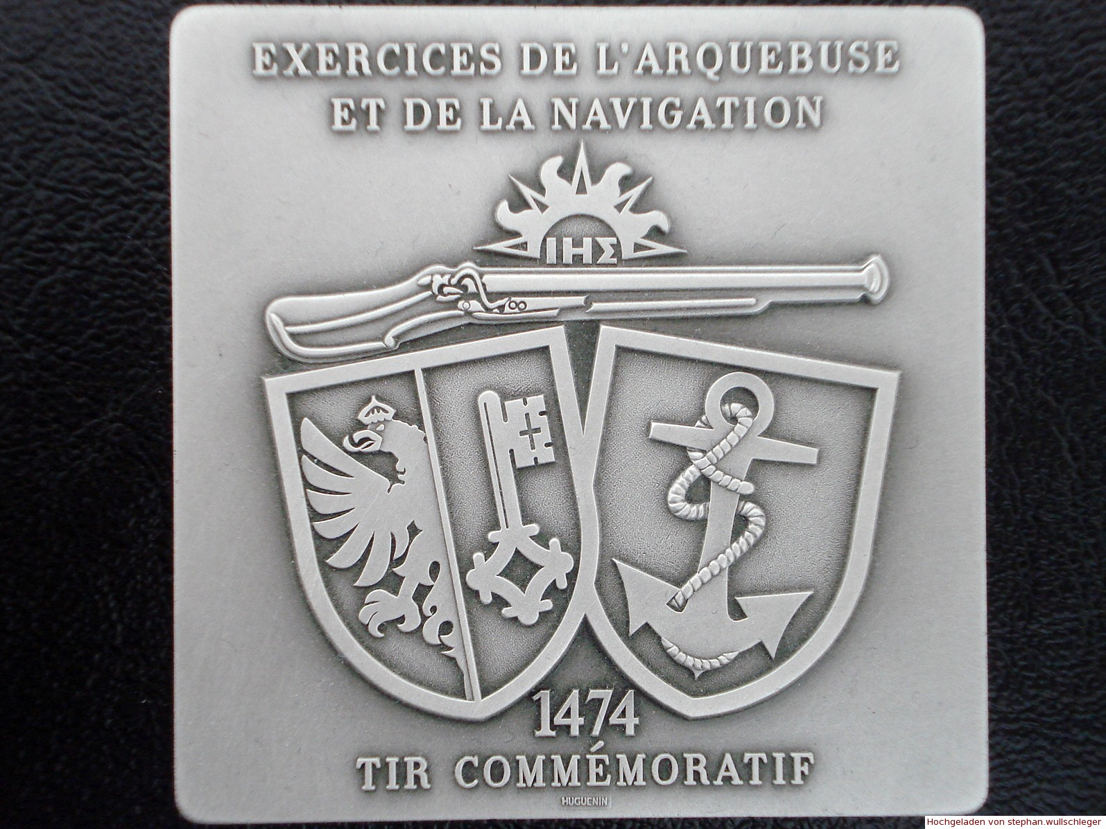 Medaille 50/25m Tir de l'Escalade Genève