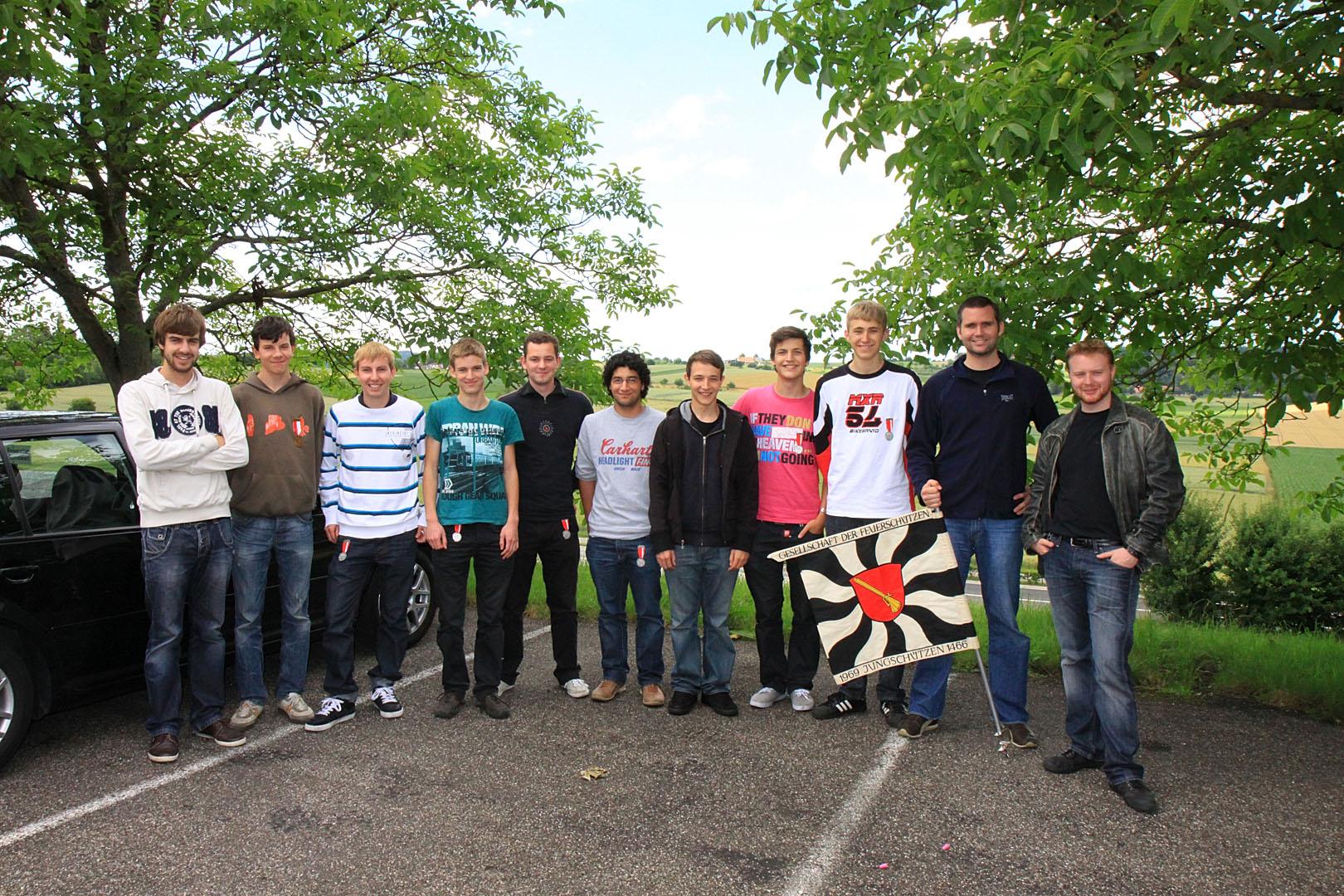 Jungschützenwettschiessen 2011