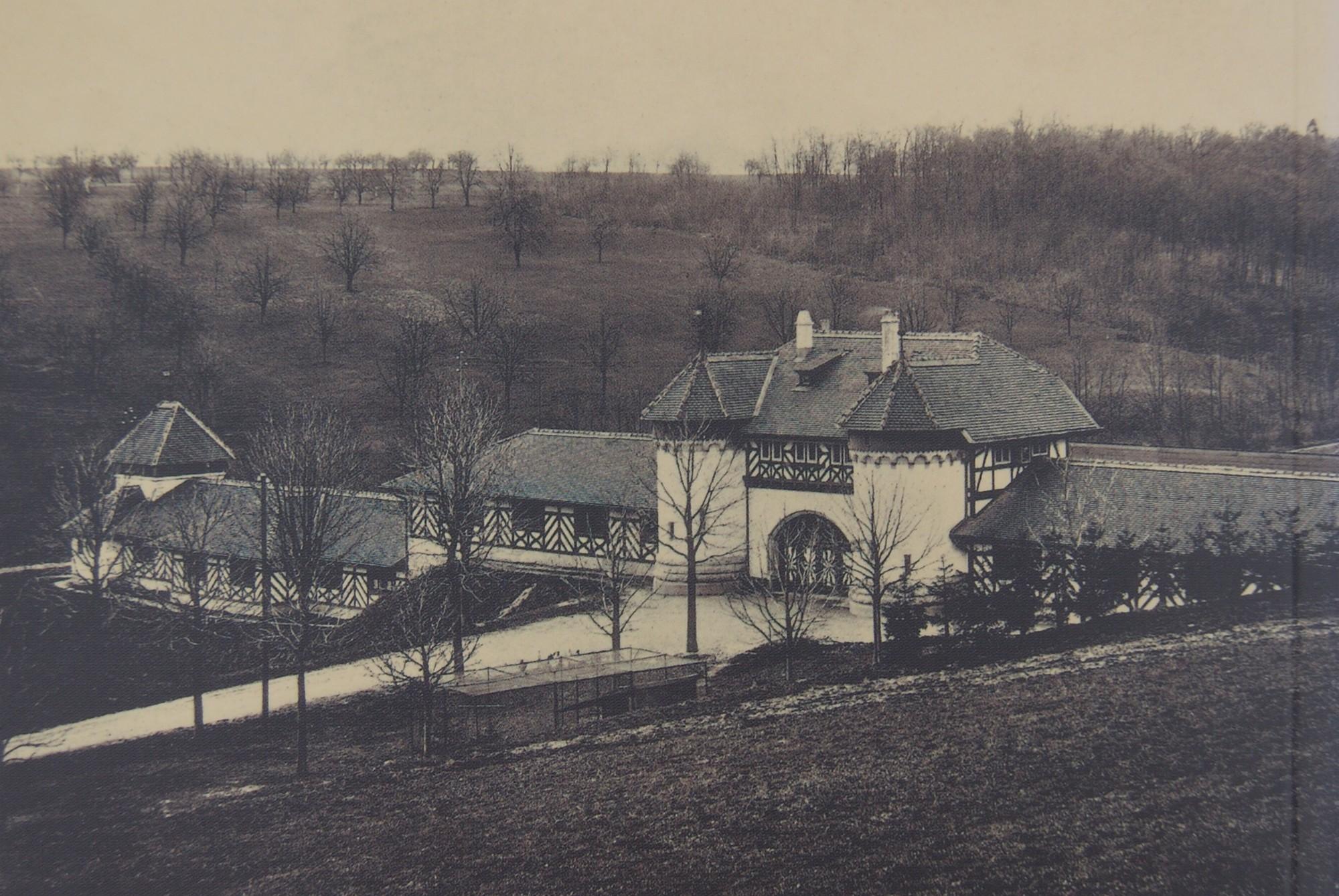 Schiessstand Allschwilerweiher um 1912