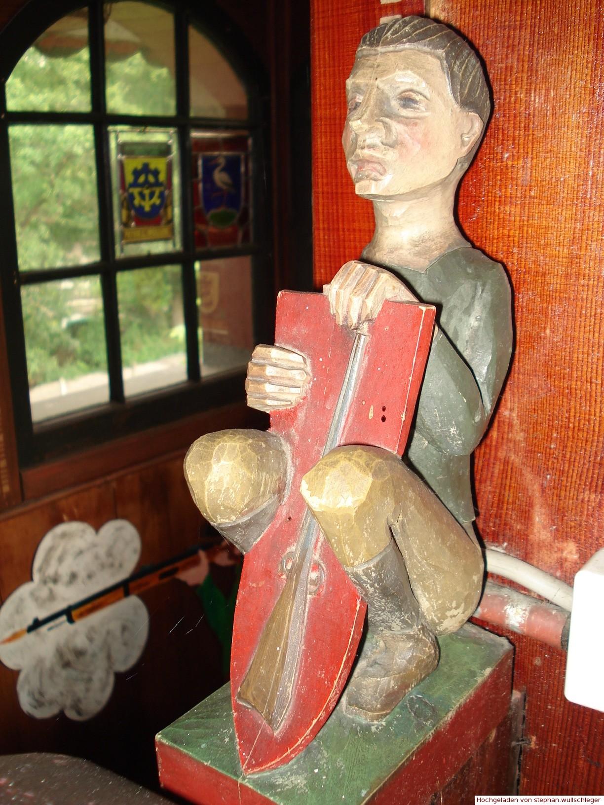 Feuerschützen-Holzfigur im Türmli
