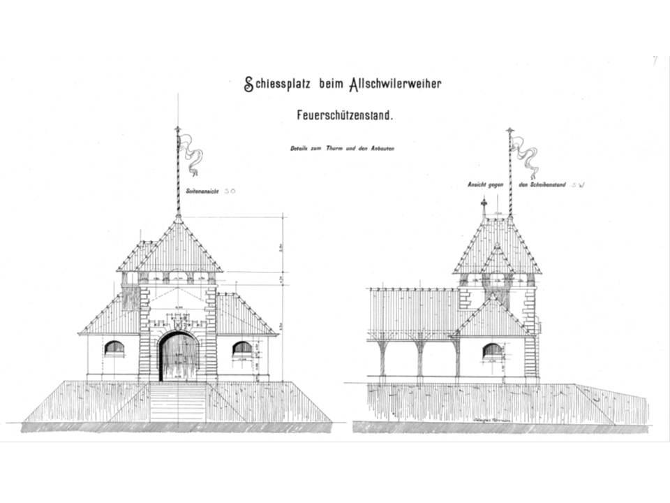 Fassadenplan 1899