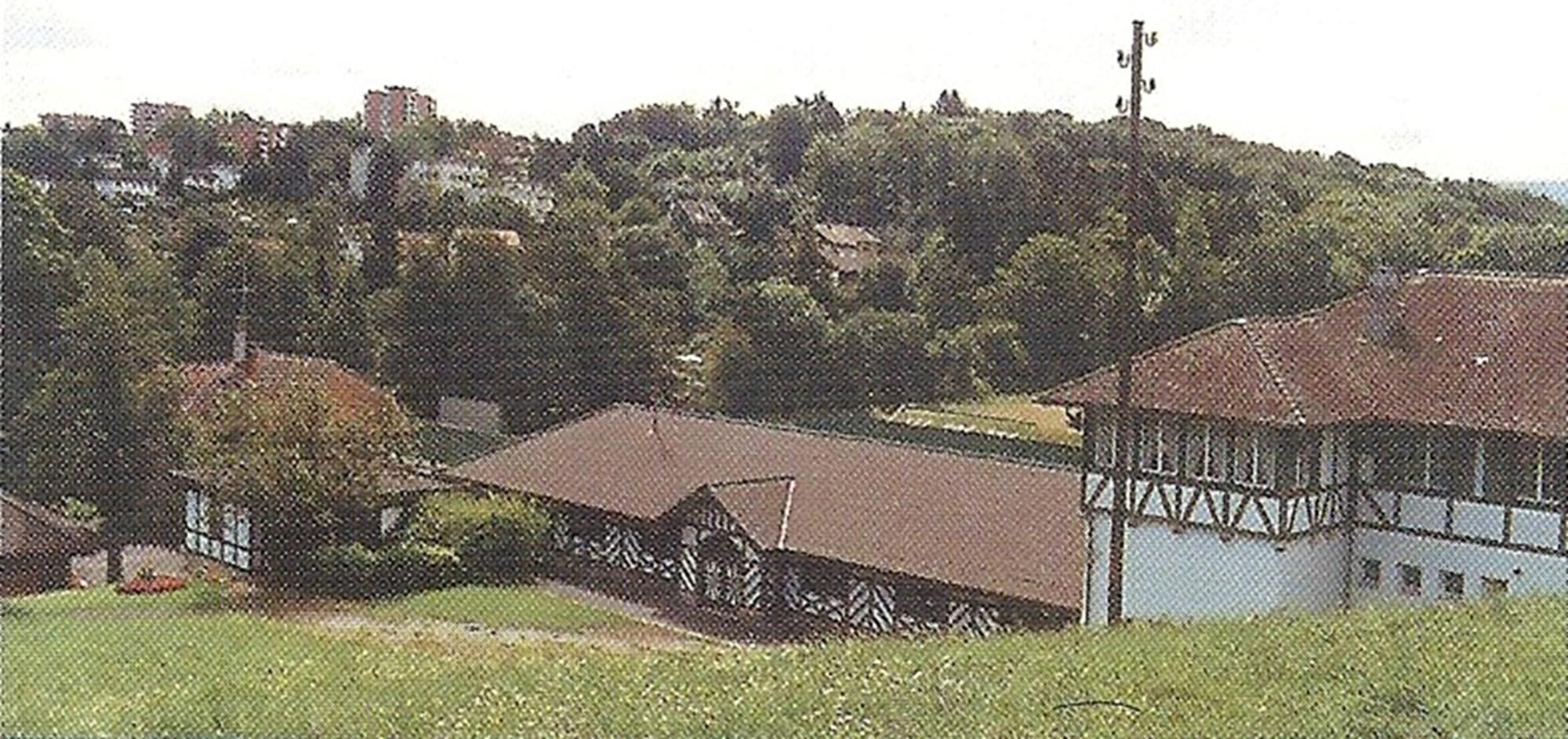 Schiessstand Allschwilerweiher um 1998