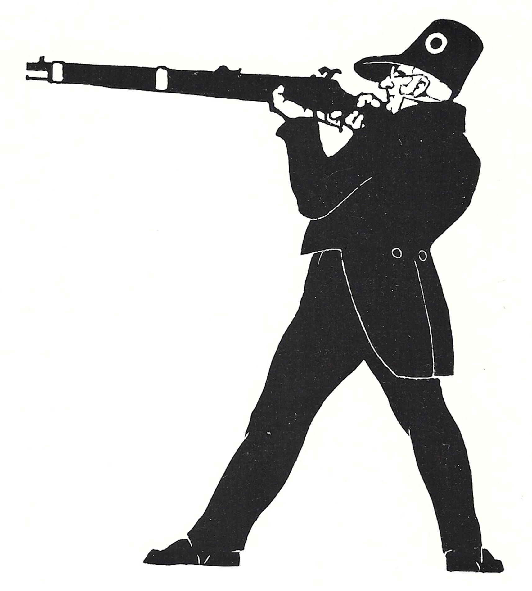 Figur des Ritter Pulverrauch 1761 - 1843