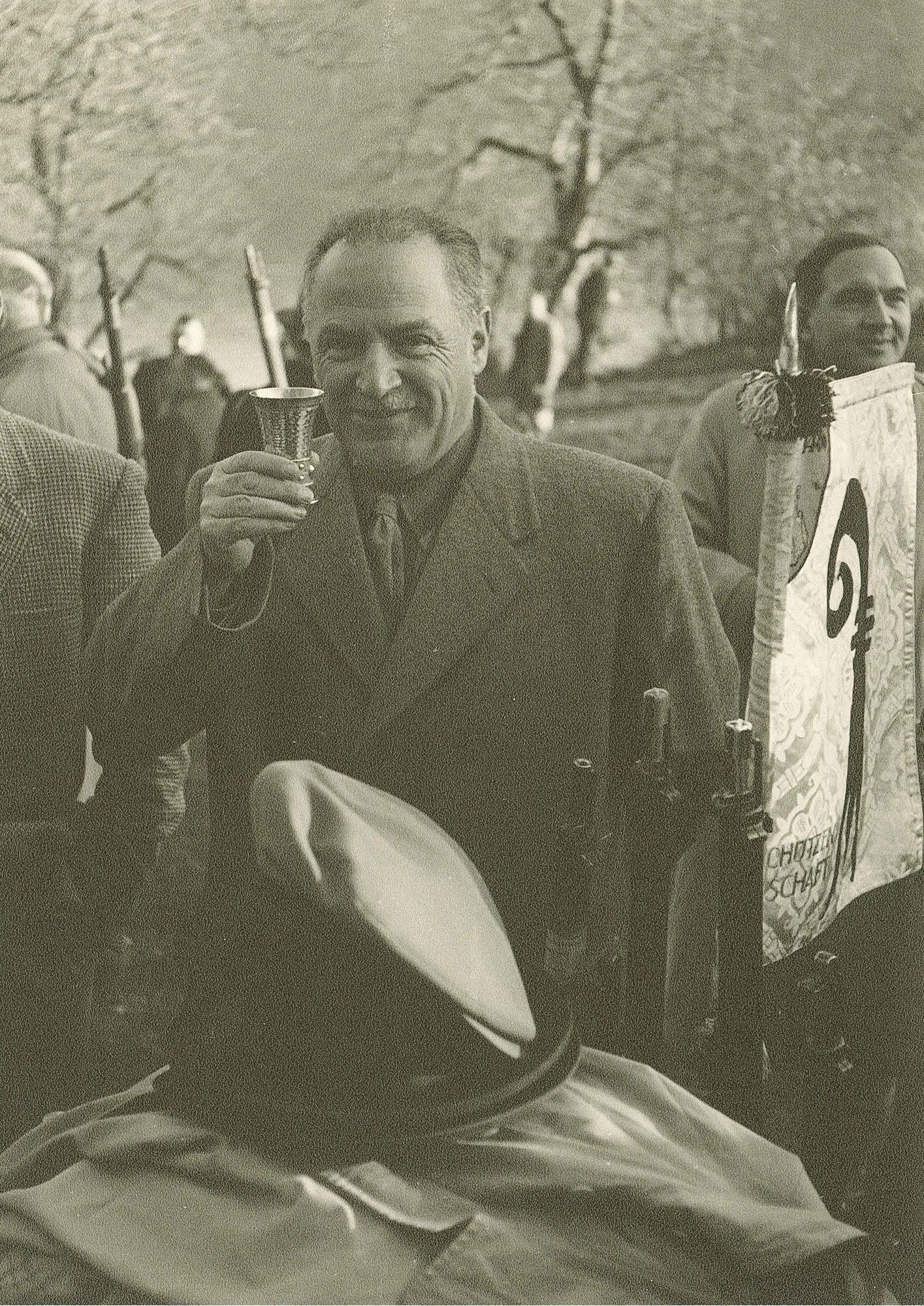 Rütli 1952 Dr.h.c. Heinrich Küng