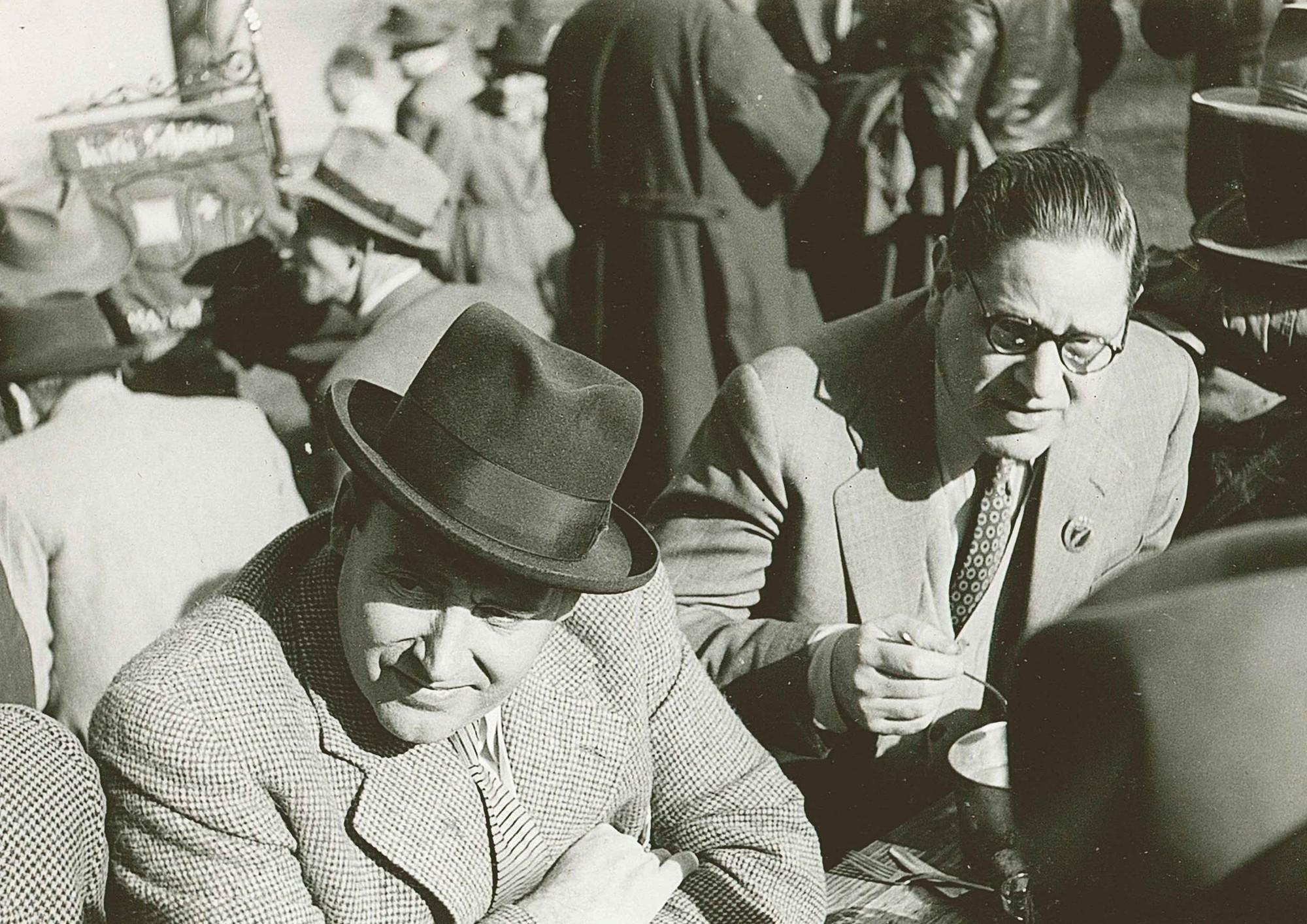 Rütli 1952 Kurt Girard (links)