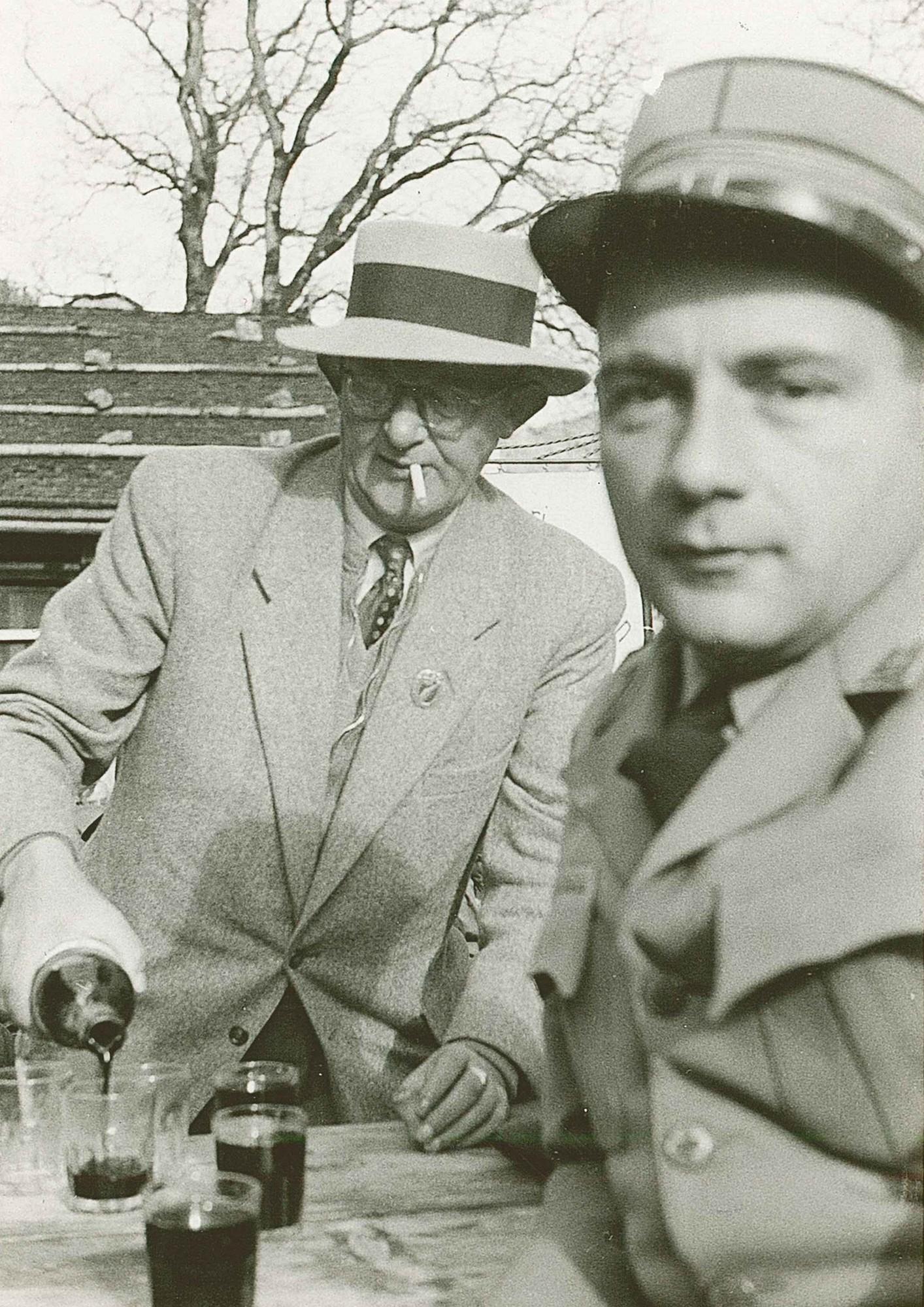 Rütli 1952 v.l. Hans Vogt, Dr. Heini Küng
