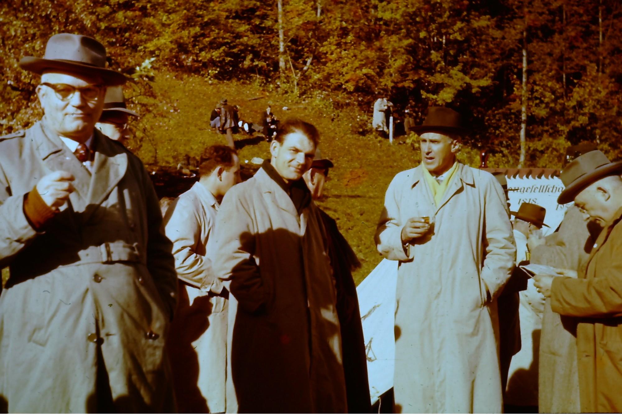 Die Feuerschützen am Rütli 1956