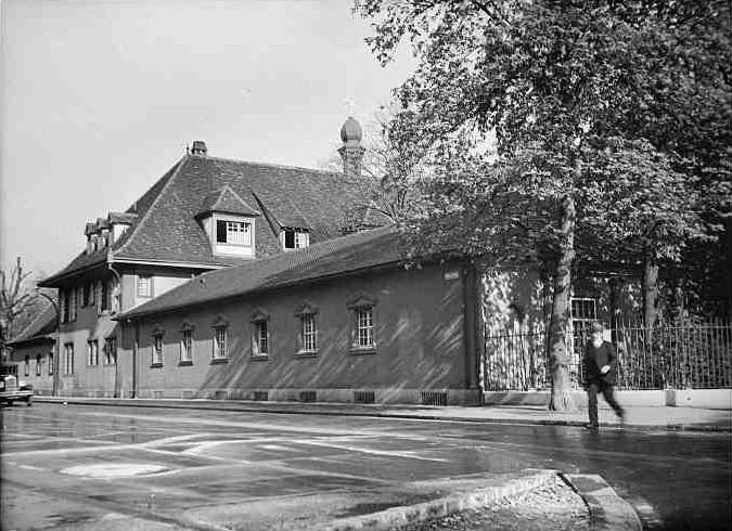 Schützenhaus Fassade Weiherweg 1933