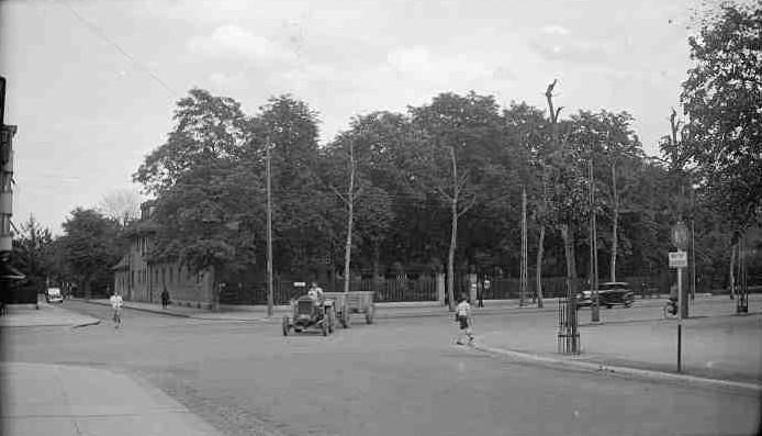 Schützenhaus Kreuzung Weiherweg/Spalenring 1938