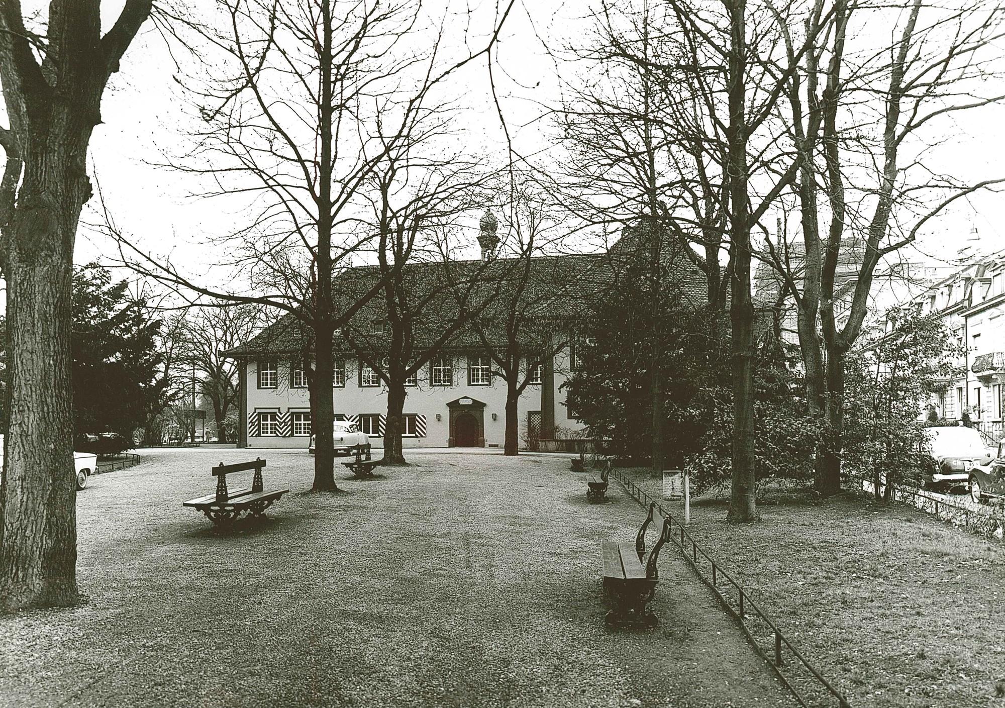 Restaurant Schützenhaus mit Parkanlage