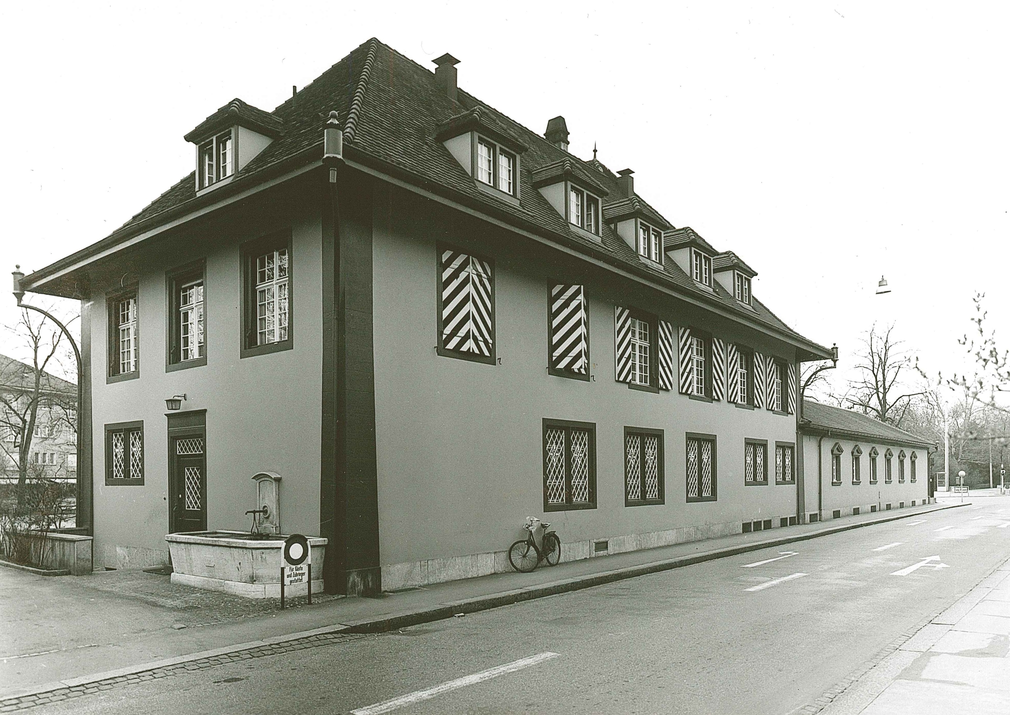 Schützenhaus Fassade Weiherweg