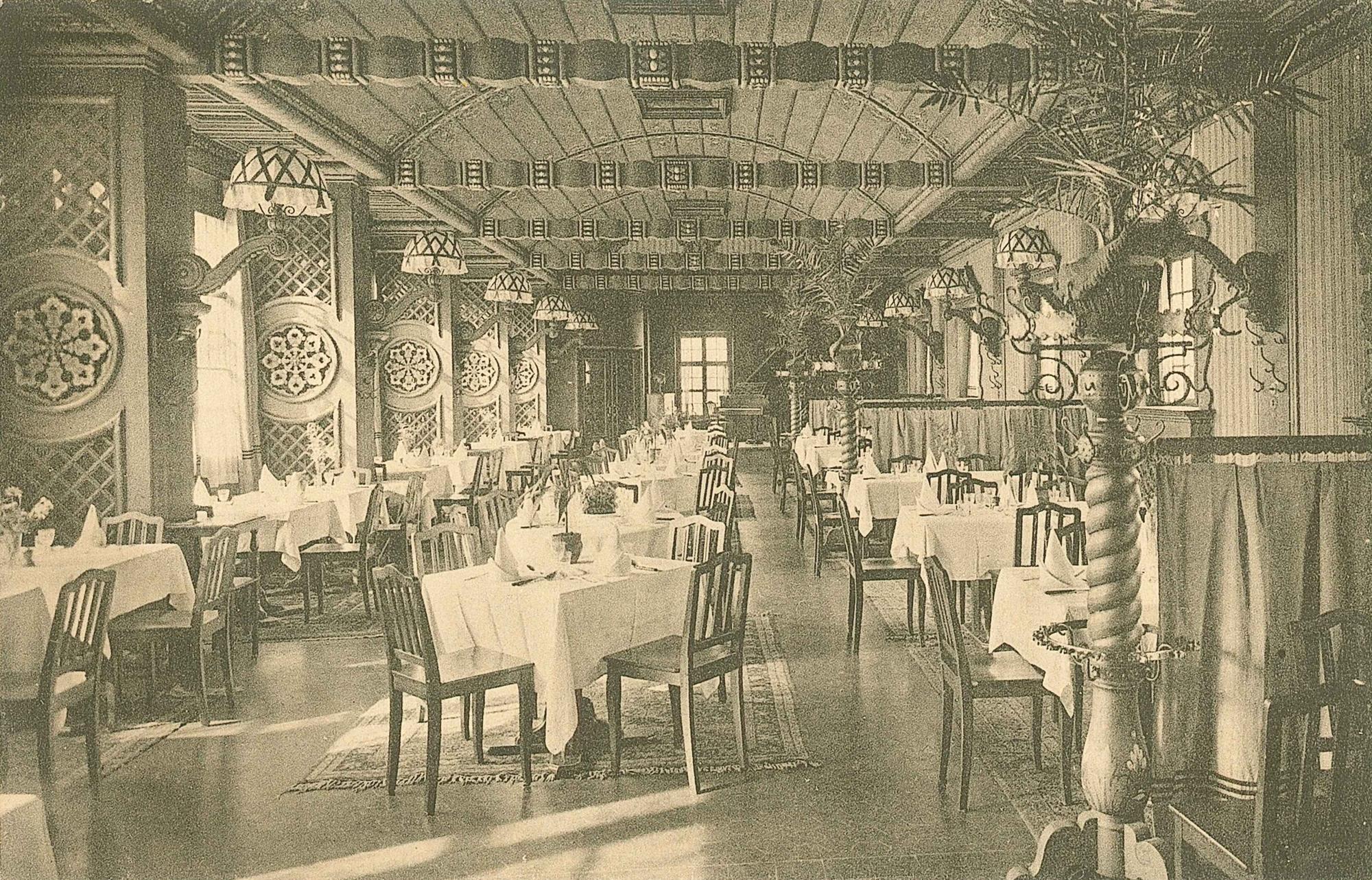 Schützenhaus Gartensaal 1917