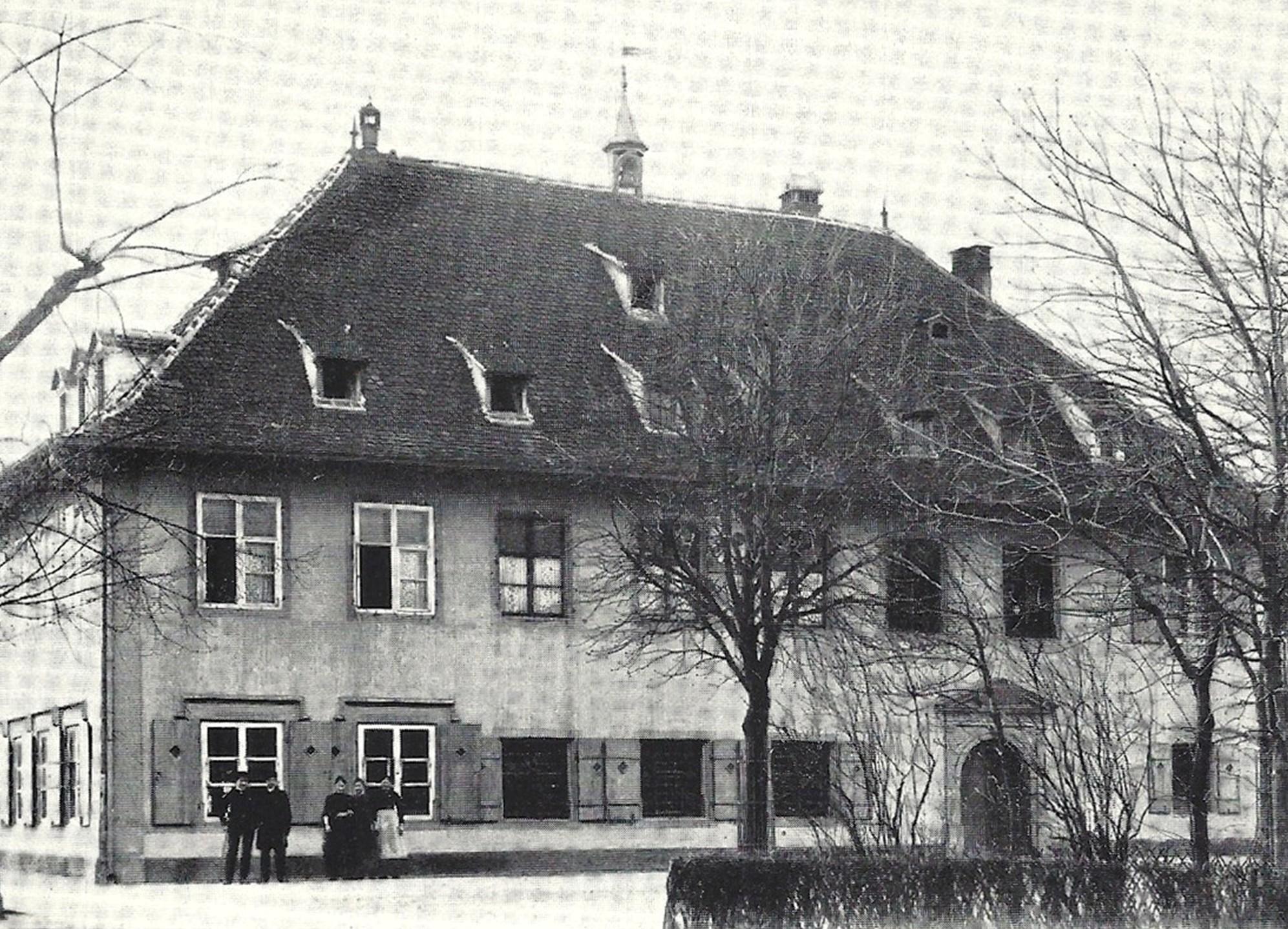Schützenhaus Nordfassade um ca. 1900