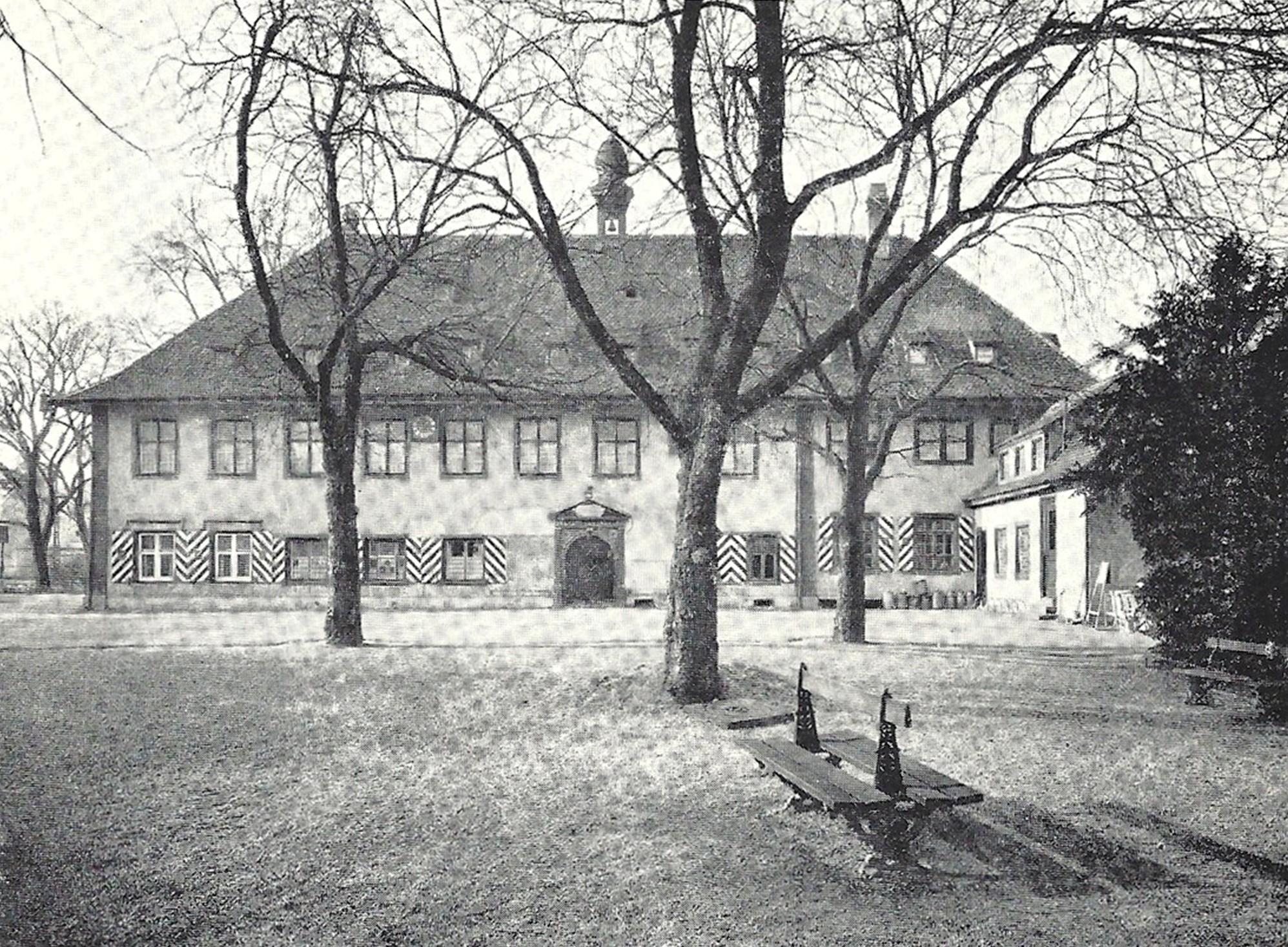 Schützenhaus Nordfassade vor Umbau 1951