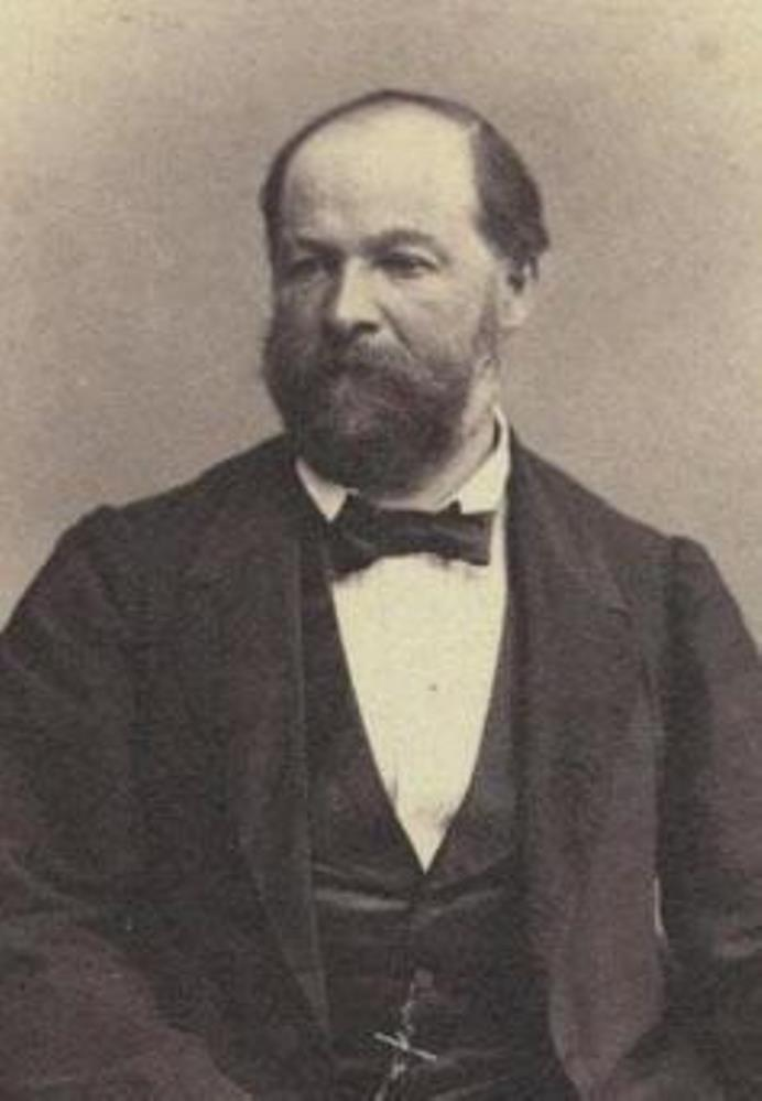Heinrich Merian-von der Mühll (1818 - 1874)