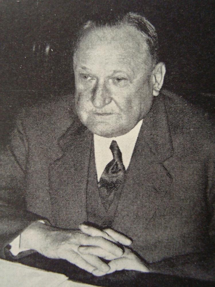 Dr. Rudolf Speich (1890 - 1961)