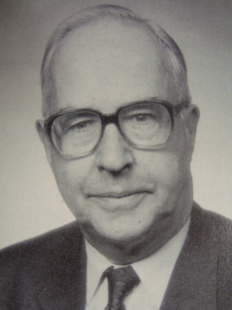 Dr. Christoph Burckhardt-Sartorius (1921 - 1997)