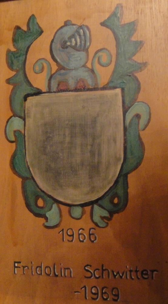 Fridolin Schwitter (1903 - 1969)