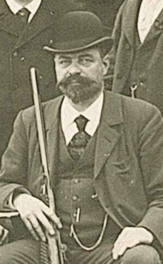 Oswald Stauffacher - Stauffacher 1849 - 1931,