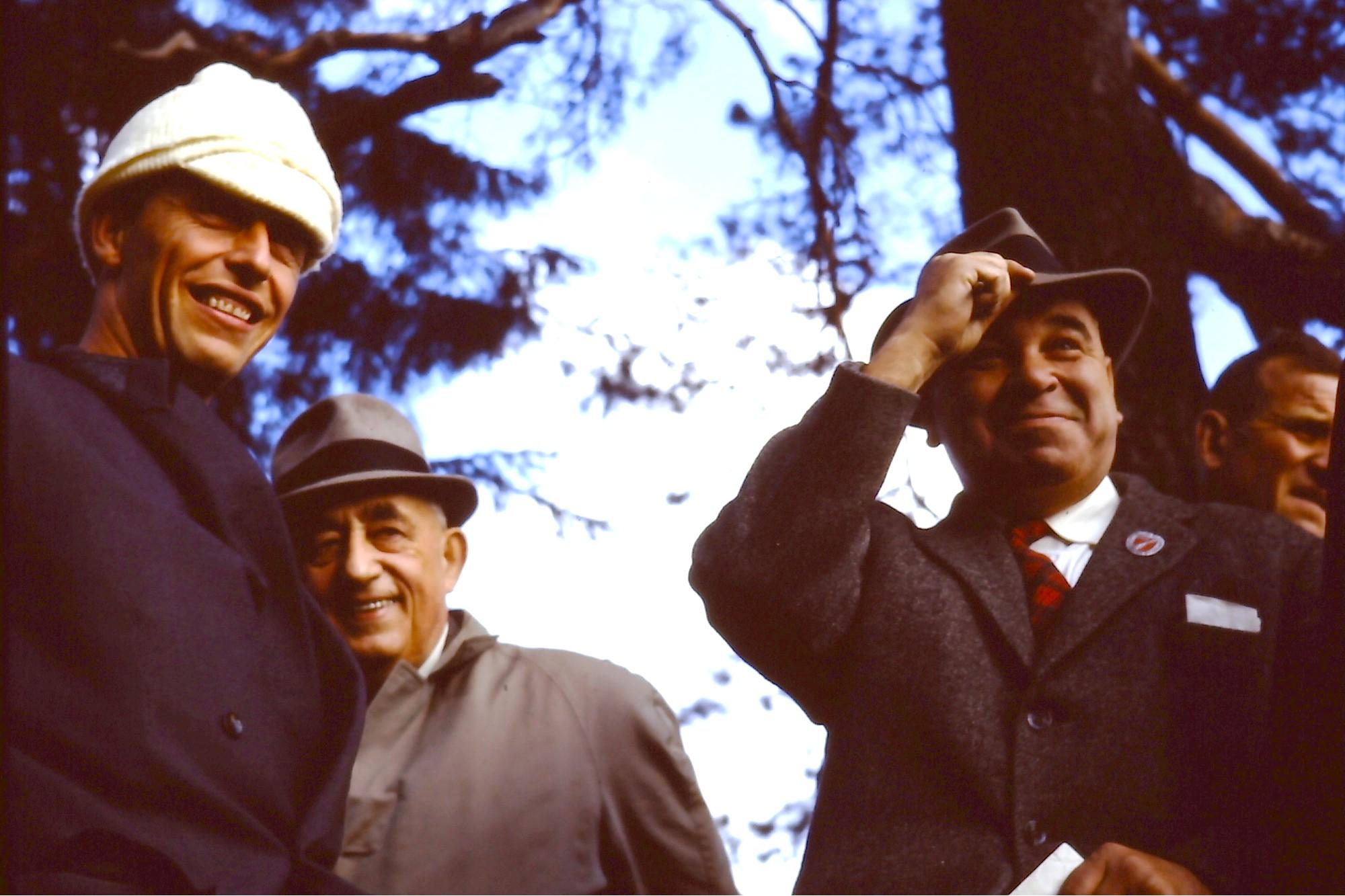 v.l. Louis Frei, Dr. Walter Bohny, Hans Abt